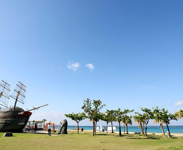 安良波公園&ビーチ